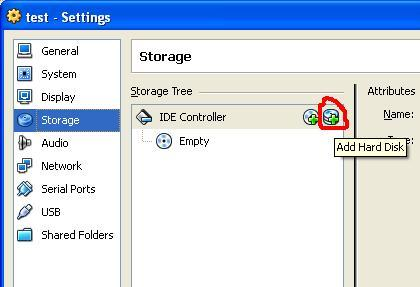addharddisk Boot your USB Drive in VirtualBox