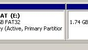 Partitions in DIsk Management